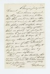 1863-07-14  George Varney inquires about status of new regiments and requests a return to service