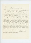 1863-07-20  Henry Hobbs inquires about welfare of Robert Athearn, injured in hospital in 1862
