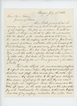 1863-07-22  Captain R.B. Wiggin writes for an honorable discharge of D.H. Leavitt