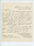 1863-04-01  George Varney requests clarification on terms of service of the regiment