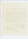1863-04-16  Stephen K. Devereux, Customs Collector, recommends Richard Tibbetts for lieutenant