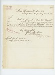 1862-11-01  L.P. Mudgett corrects misspelled name on commission of W.H. Boynton