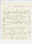 1862-08-01  Rufus Dwinal recommends Colonel Charles W. Roberts for promotion