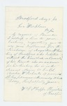 1862-08-05  Dr. Phipps requests discharge of Augustus M. Lawlin