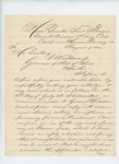 1862-08-07  S.P. Strickland recommends George Holt for an appointment in a new infantry regiment