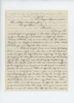 1862-08-08  D.F. Kelleher requests a commission for his brother Richard in the new 20th Maine Regiment