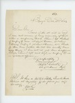 1862-12-02  Colonel Charles Roberts writes to Governor Washburn regarding lieutenant vacancies