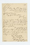 1862-12-05  Lieutenant Colonel George Varney requests copies of his commissions