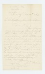 1862-12-11  J.T. Main accepts appointment as Assistant Surgeon