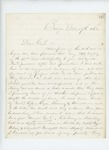 1862-12-16  Colonel Charles Roberts to General Hodsdon regarding his history of the 2nd Maine Regiment