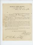 1863-06-09  Request for descriptive roll for Nicholas M. Canvera
