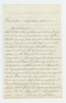 1863-05-08  Augustus Harford requests assistance due to ill health