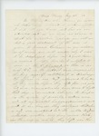 1863-05-22  F.L. Grindle writes to Mr. Wilson requesting his aid in presenting the case of the 2nd Regiment to Governor Coburn