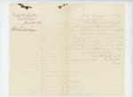 1863-06-22  Dudley Leavitt requests his discharge