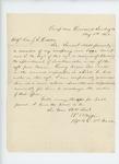 1862-08-11  Captain R.B. Wiggin recommends Samuel Nash for promotion