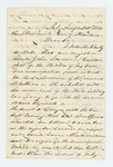 1862-08-12  Russell Kittredge recommends John Lindsay for appointment as lieutenant