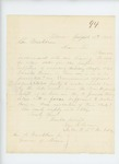 1862-08-13  George W. Brown writes Governor Washburn about draft avoiders