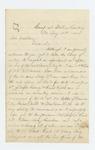 1862-08-14  Lieutenant Horatio Staples requests commission in a new regiment