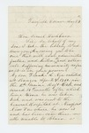 1862-08-24  W.D. Nye requests a discharge for his ailing son Frank A. Nye