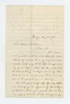 1862-08-25  Lieutenant Colonel George Varney recommends Reverend A.J. Bates for appointment as chaplain
