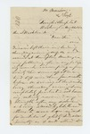 1862-08-26  Dr. Morison writes Governor Washburn regarding surgeon appointments