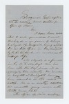 1862-09-24  William H. Sargent writes Governor Washburn in support of Alonzo Mirick [Myrick?] as drill officer