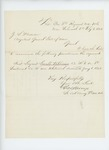 1863-02-03  Colonel George Varney recommends Sergeant Sewall H. Downs for promotion