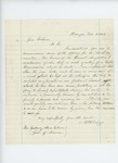 1863-02-10  A.H. Briggs recommends Sergeant A.J. Nickerson for promotion