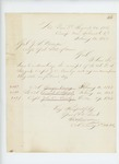 1863-02-20  Colonel Varney acknowledges receipt of commissions for himself, Daniel Sargent, and John Quimby