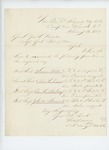 1863-02-20  Colonel Varney recommends Foster, Downs, Sterling, and Sherwood for promotions