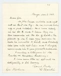 1863-03-02  Hannibal Hamlin recommends John Sawyer for promotion