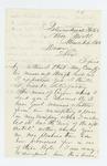 1863-03-04  Captain George W. Brown acknowledges promotion of Leonard Carver