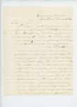 1863-03-06  S.K. Devereux writes Governor Coburn regarding commission for Richard Tibbetts