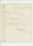 1863-03-13  Colonel George Varney acknowledges receipt of commissions for Foster, Downs, and Sterling
