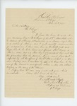 1863-03-13  Lieutenant Horatio Staples writes in support of promotion of Sergeant Noyes