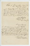 1863-03-18  Colonel Varney and Captain Getchell recommend Sergeant Byron Gilmore for promotion