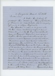 1863-03-23  John Holyoke recommeds Henry L. Barker for a commission in the Colored Regiments