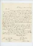 1863-03-23  William Barton recommends Leonard D. Carver for a commission in the Colored Troops