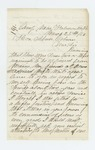 1863-03-25  Captain W.R. Currier requests a promotion from Governor Coburn