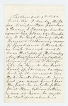 1862-10-01  John Bridges recommends his son Charles for promotion to 1st Lieutenant