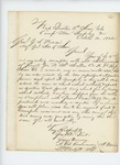 1862-10-10  Lieutenant Colonel George Varney writes regarding descriptive rolls and clothing accounts