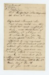 1862-10-05  Alonzo Wentworth pleads for clothing and descriptive roll for himself and Hiram B. Evans