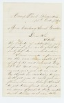 1862-10-15  Lewis R. Haskell requests a discharge