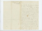 1862-10-26  Seth H. Hall requests a discharge