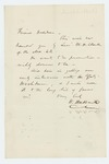 Undated - W. Hubbard writes Adjutant General Hodsdon to recommend W.H. Clark for promotion
