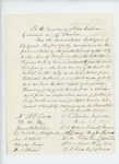 Undated - James Webster and other citizens of Belfast recommend the promotion of Augustus S. Lord