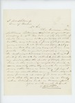 Undated - E.W. Stetson recommends Sergeant Artemus Robinson to recruit and command a volunteer infantry company