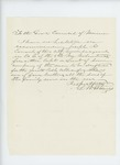 Undated - L.M. Howes recommends Sergeant Joseph R. Conant for promotion