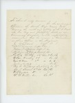 Undated - Captain Julius B. Litchfield and other officers of the 4th Maine Regiment recommend Commissary Sergeant L.C. Grant for promotion to Line Officer