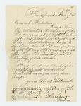 1861-05-20  Ebenezer Whitcomb requests recruitment papers to enlist more men